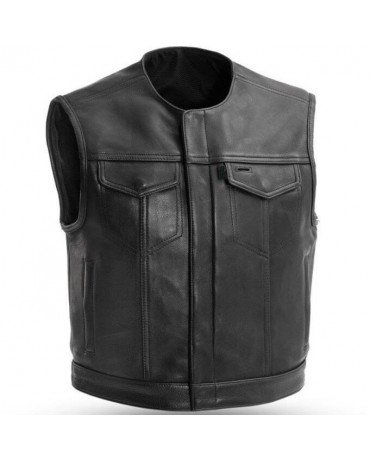 Gilet Biker Sons Anarchy Noir
